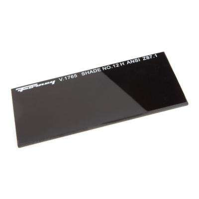4-1/4 in. x 2 in. #12 Shade Hardened Glass Replacement Lens