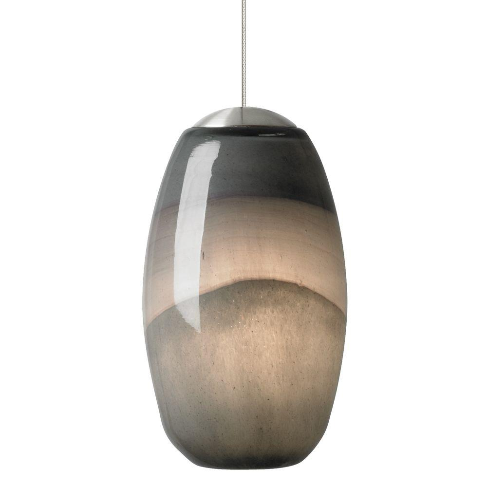 Lbl lighting emi 1 light satin nickel xenon mini pendant with gray lbl lighting emi 1 light satin nickel xenon mini pendant with graydark purple arubaitofo Gallery