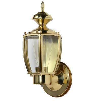 Jackson Solid Brass Outdoor Wall-Mount Uplight