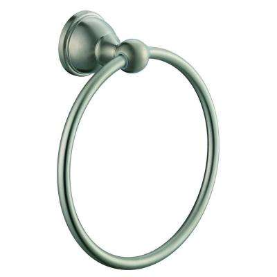 Mandouri Towel Ring in Brushed Nickel