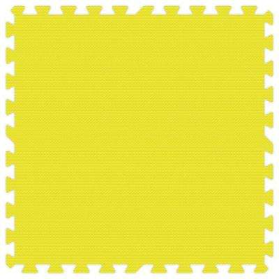 Yellow 24 in. x 24 in. Comfortable Mat (100 sq.ft. / Case)
