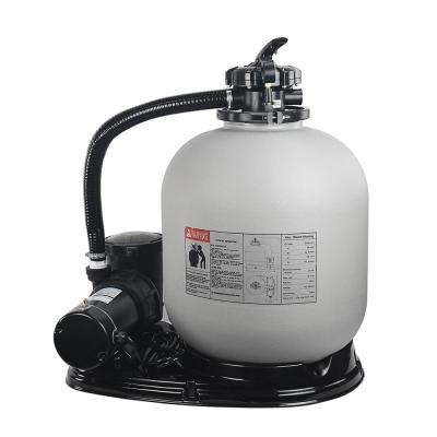 19 in. Sand Filter System with 1.5 HP 4500 GPH Swimming Pool Pump