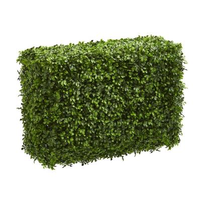 Indoor 30 in. Eucalyptus Artificial Hedge