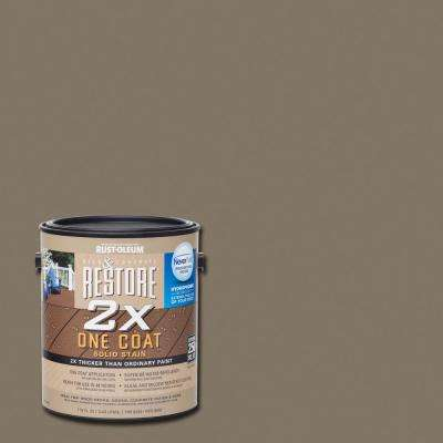1 gal. 2X Winchester Solid Deck Stain with NeverWet