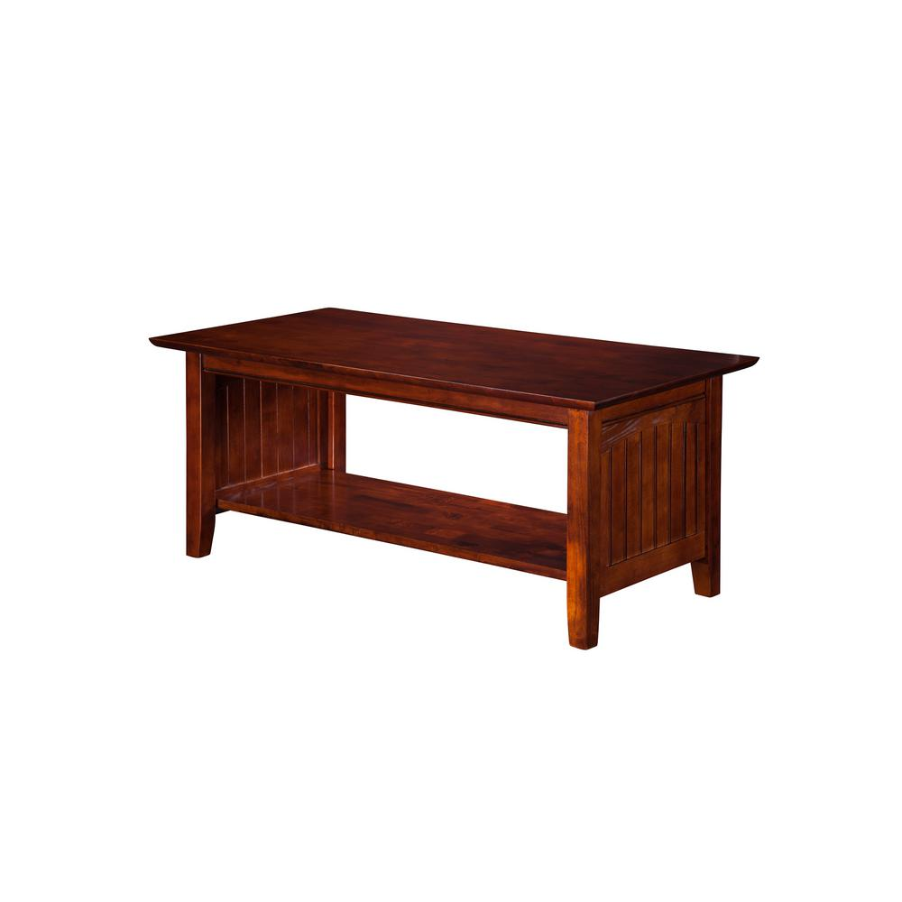 Nantucket Walnut Coffee Table