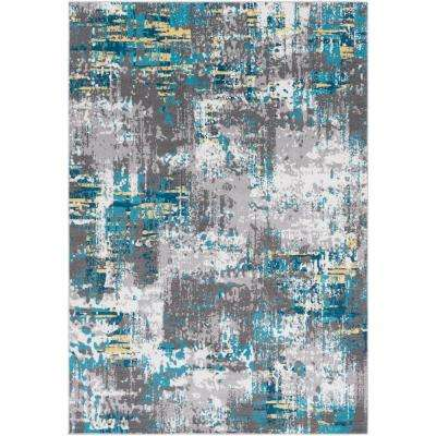Arboleas Teal 5 Ft X 8 Area Rug