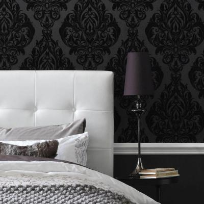 Graham Brown Kinky Vintage Black Removable Wallpaper 50 223 The