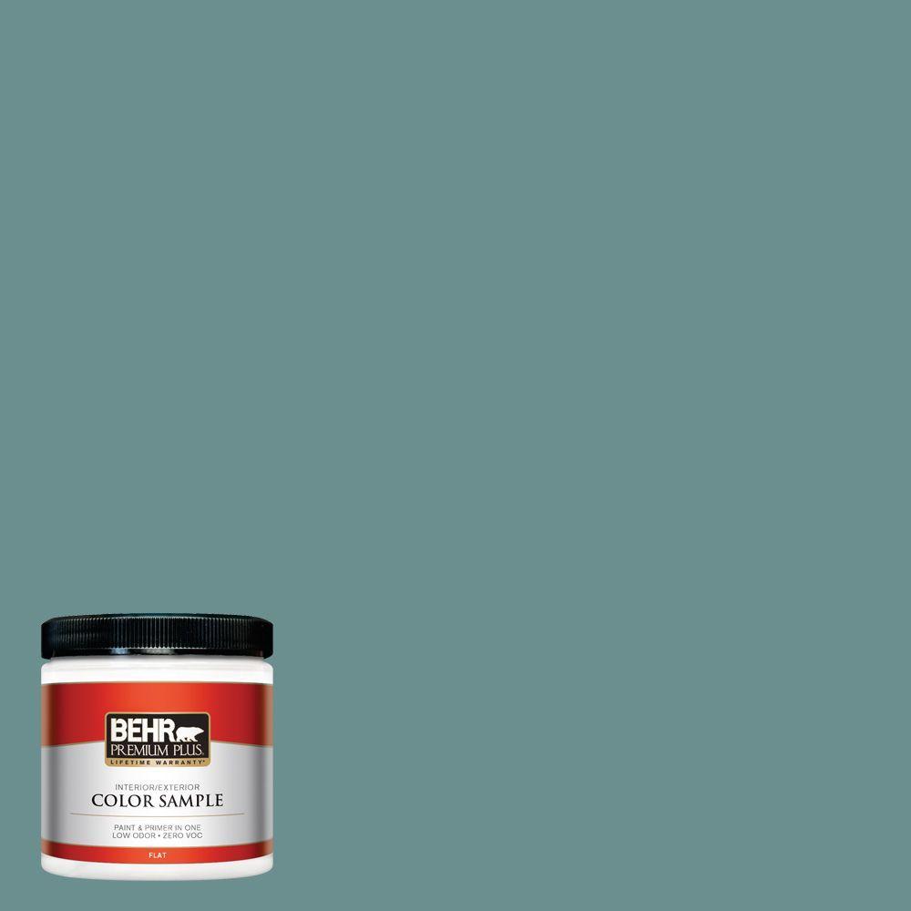 8 oz. #500F-6 Hallowed Hush Interior/Exterior Paint Sample