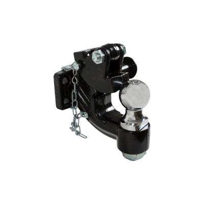 2 in. 10-Ton Chrome Combination Hitch Ball