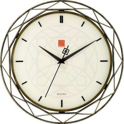 14 in. Prism Wall Clock