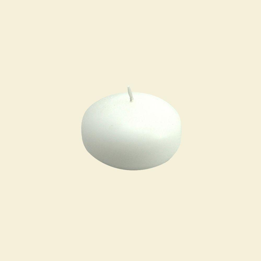 1.75 in. White Floating Candle (24-Box)