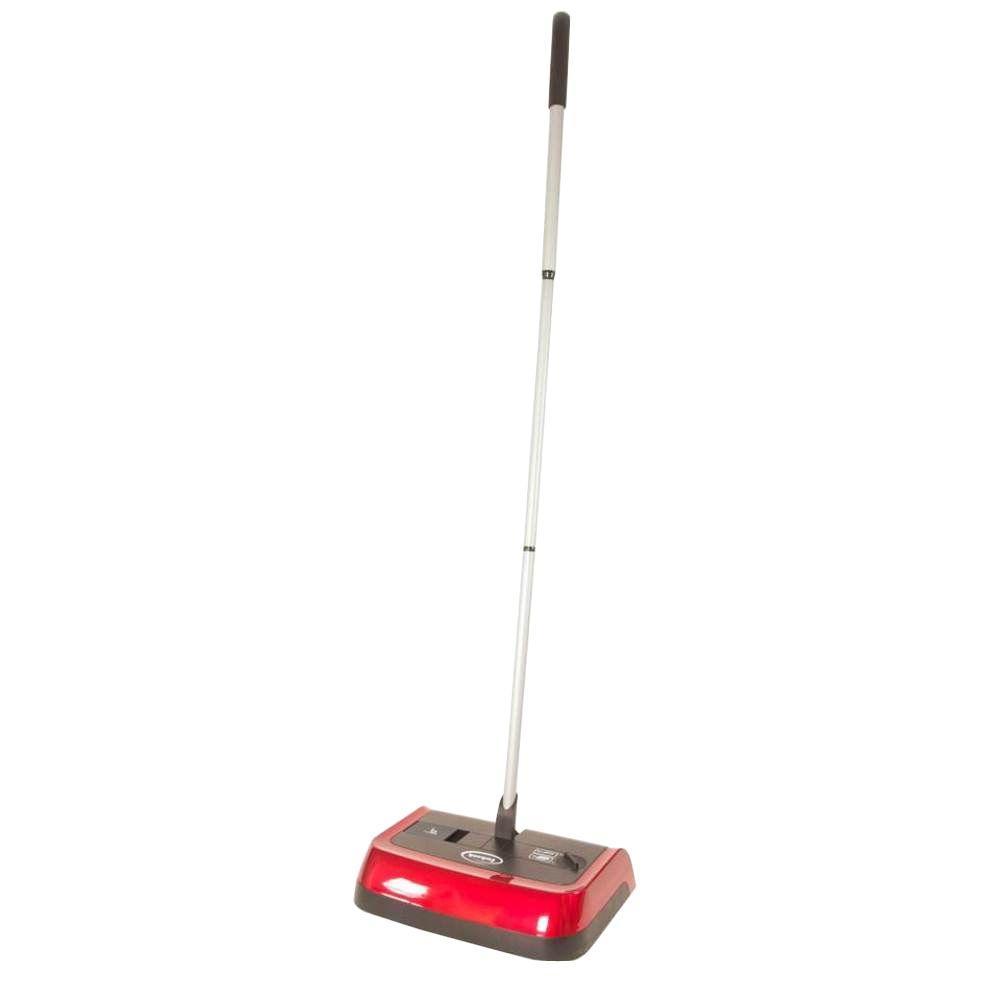 Evolution 3 10 in. Adjustable Height Manual Carpet Sweeper
