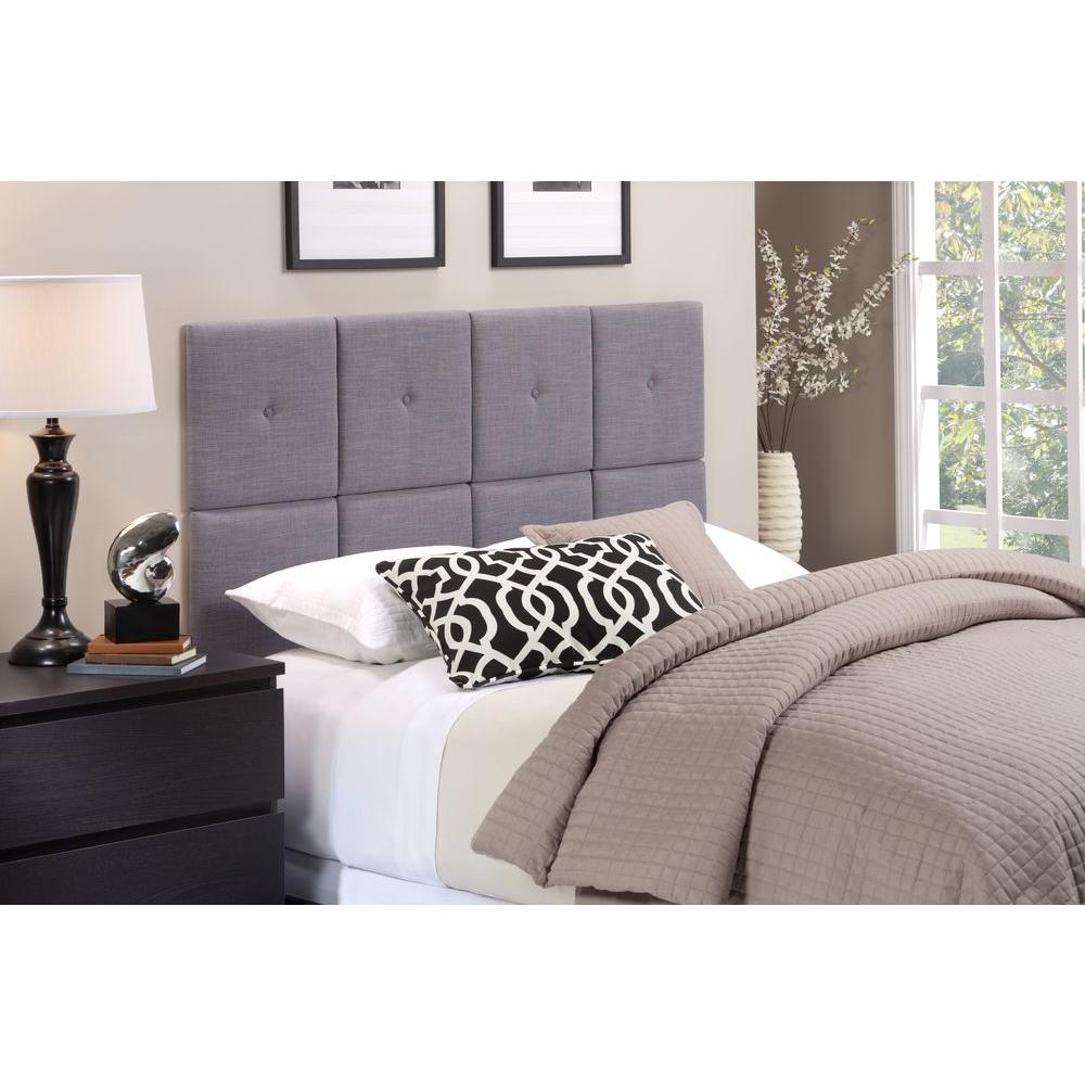 Foremost tessa gray full queen headboard tht 61013 fb gry for Foremost homes