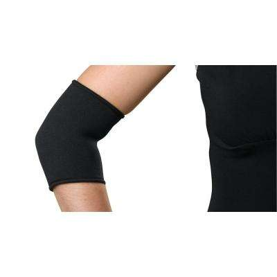 Large Elbow Sleeve with Compression Strap