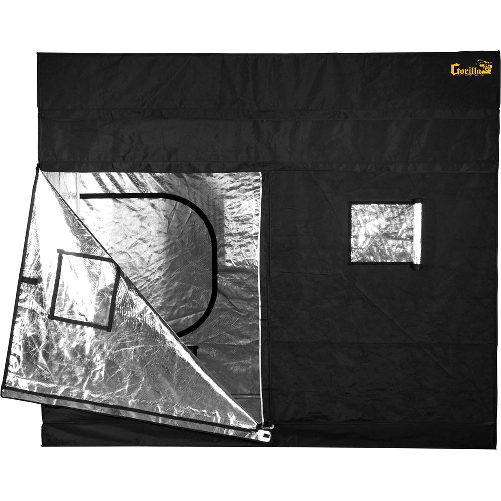 Black Gorilla Grow Tent-GGT48 - The Home Depot  sc 1 st  The Home Depot & Gorilla 4 ft. x 8 ft. Black Gorilla Grow Tent-GGT48 - The Home Depot