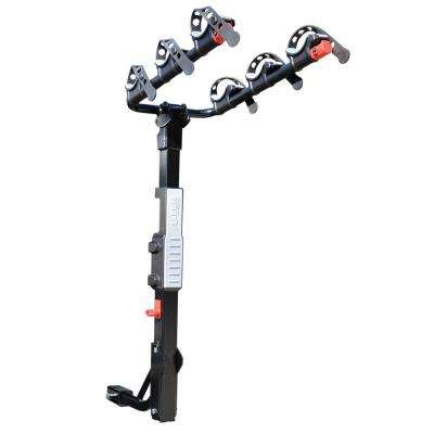 105 lbs. Capacity 3-Bike Vehicle 2 in. and 1.25 in. Hitch Premier Bike Rack