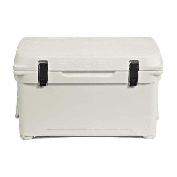 35 Qt. 42-Can High Performance Roto Molded Cooler, Coastal White