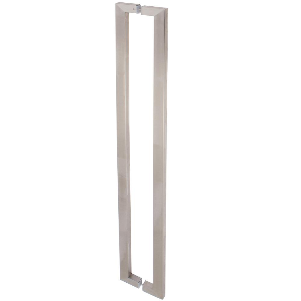 Delaney 5 Ft Brushed Steel Barn Door Hardware Double