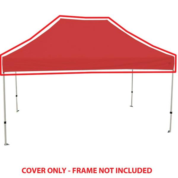 King Canopy Univeral Red Cover For 10 Ft X 15 Ft Instant Pop Up Tent Inat15rd The Home Depot