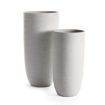 Fibrestone Malibu Tall Pots, Set of 2
