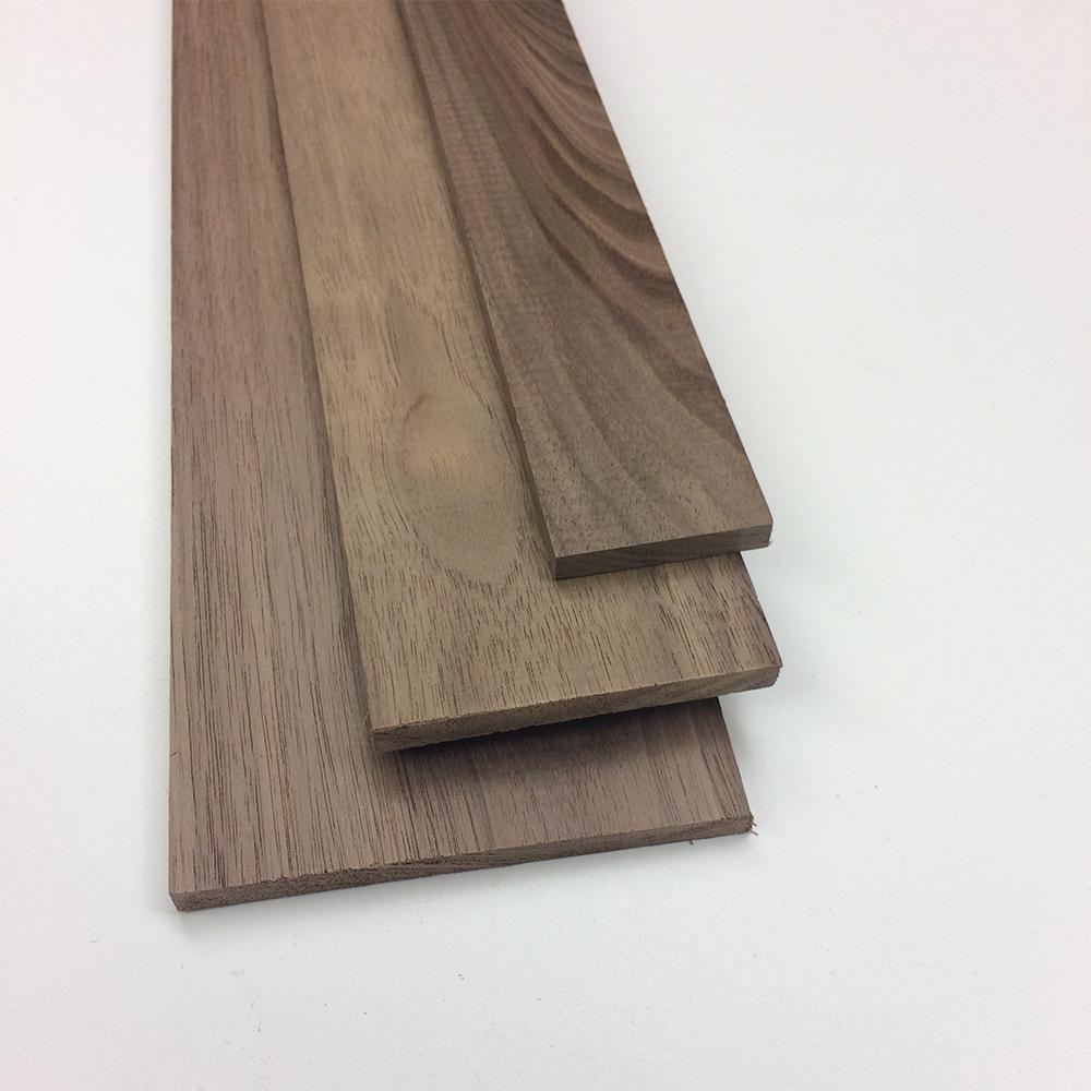 0.25 in. x 5.5 in. x 4 ft. Walnut Hobby Board (5-Pack)