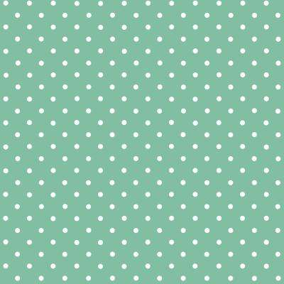17 in. x 78 in. Petersen Mint, Green Home Decor Self-Adhesive Film With White Polka Dots (2-Pack)