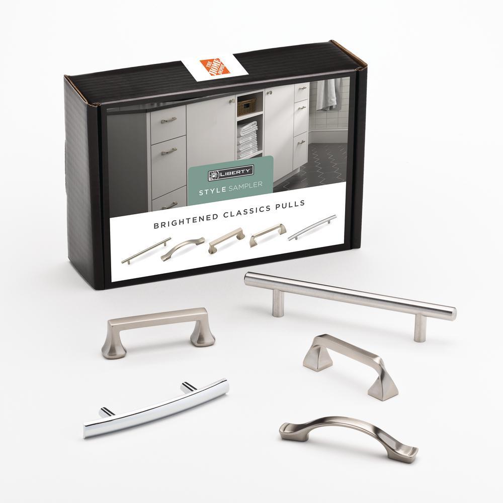 Liberty Brightened Classics Drawer Pull Sample Box 5 Pack