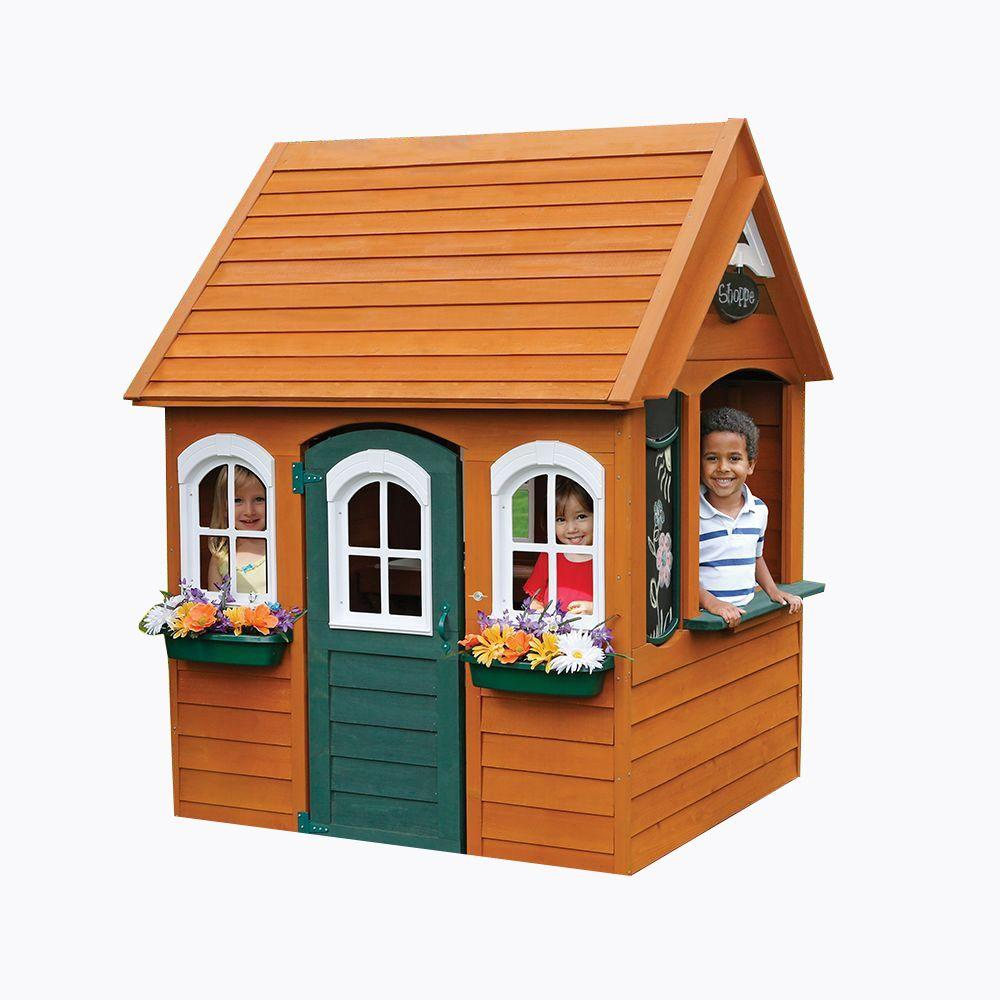 Home Depot Playhouses : Cedar summit bancroft playhouse p the home depot