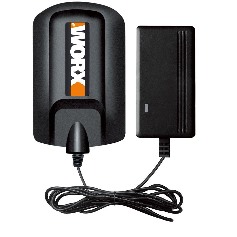 Worx 20-Volt Lithium-Ion 3-5 Hour Charger