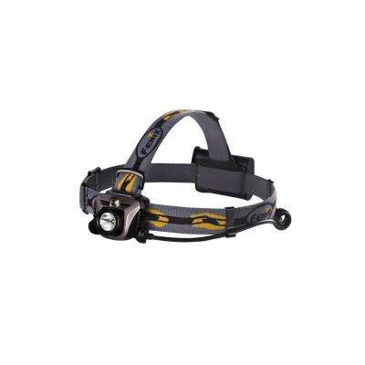 HP Series 350 Lumens AA Battery Powered LED Headlamp in Gray