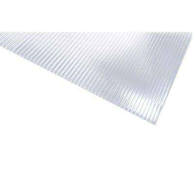 24 in. x 48 in. x 5/16 in. Polycarbonate Clear Twinwall Sheet