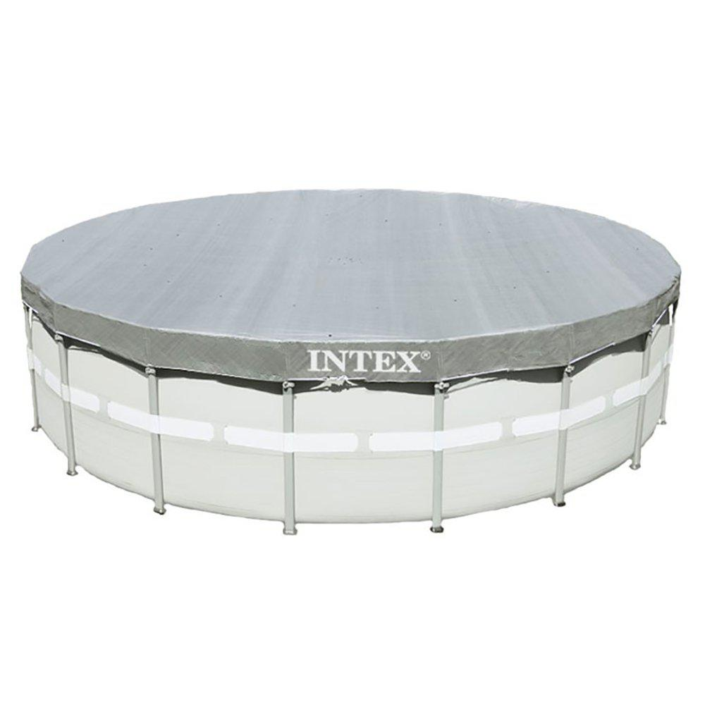 Intex 18 ft. Round Ultra Frame Swimming Pools UV Resistant Deluxe Debris Above Ground Leaf Cover (3-Pack)