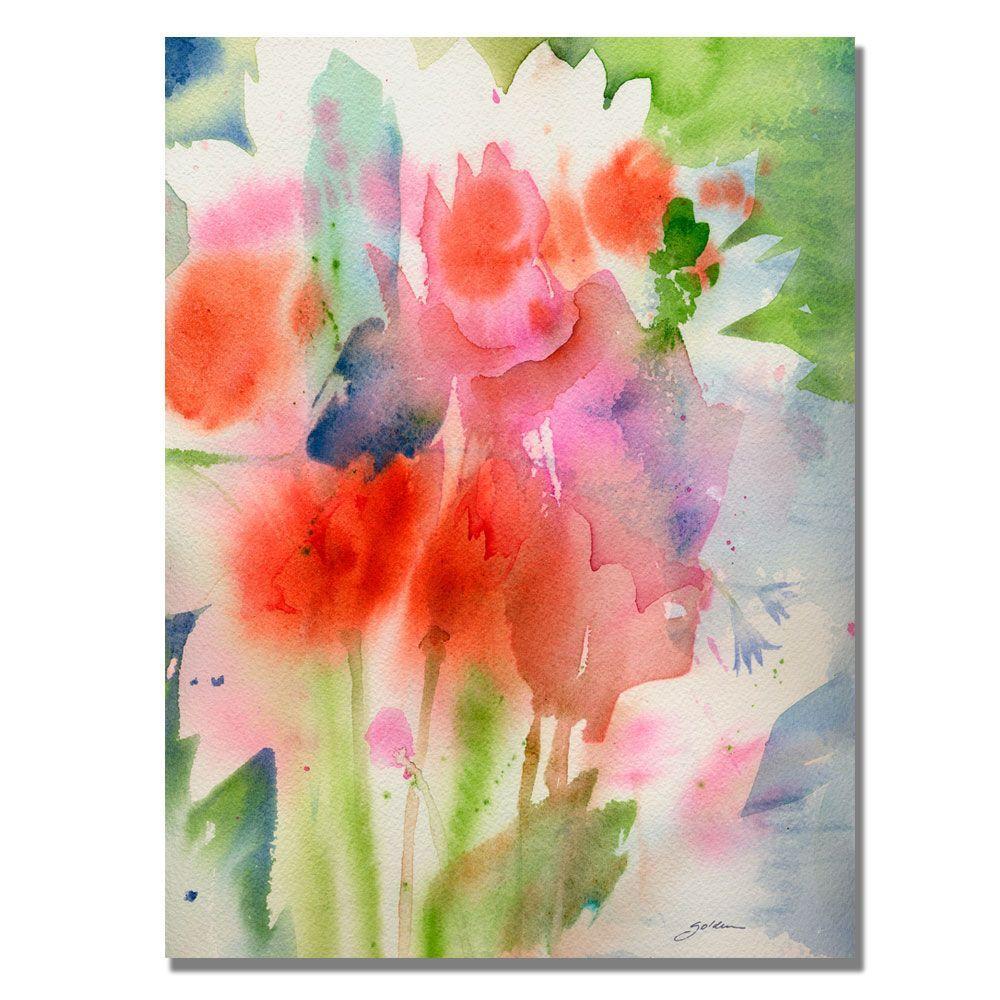 24 in. x 32 in. Bouquet in Spring Canvas Art