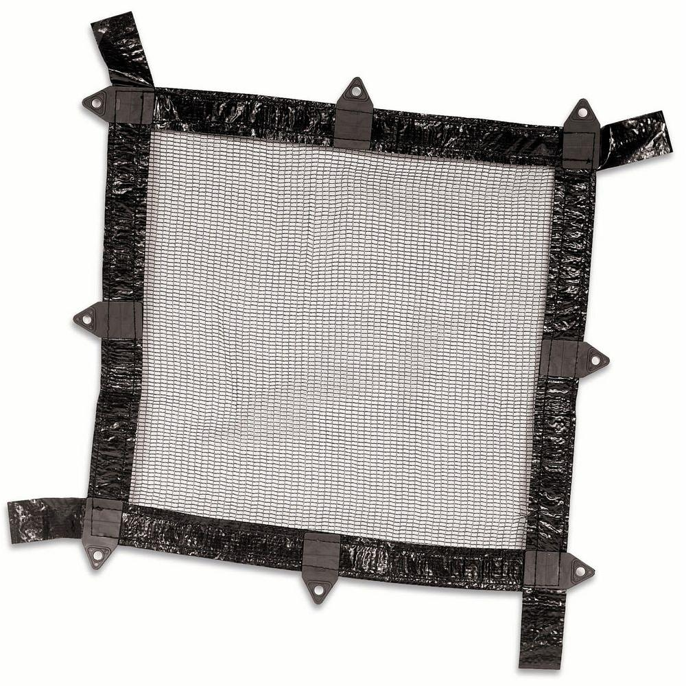 Swimline Lifesmart 18 ft. Round Above Ground Leaf Net Pool Cover-DISCONTINUED
