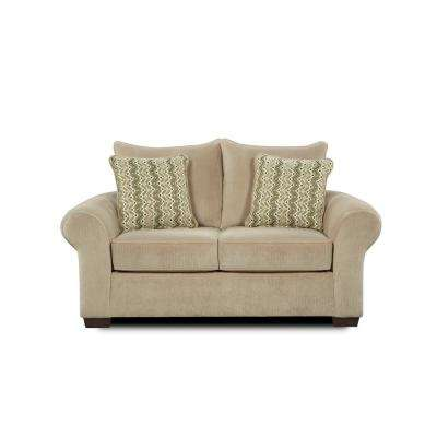 Hagan Chevron Seal Loveseat