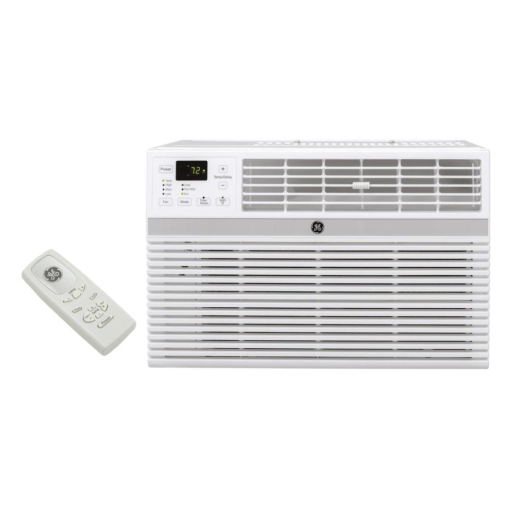 GE 8000 BTU Energy Star Window Smart Room Air Conditioner with WiFi