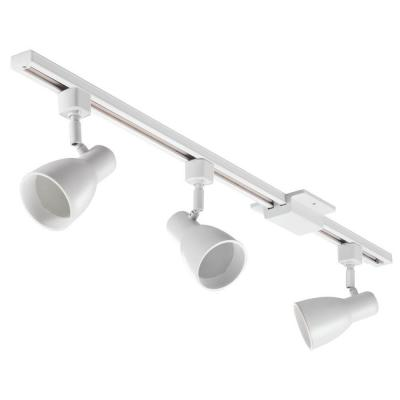 3 ft. 3-Light White Track Lighting Kit