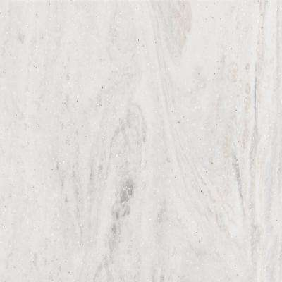 2 in. x 2 in. Solid Surface Countertop Sample in Limestone Prima