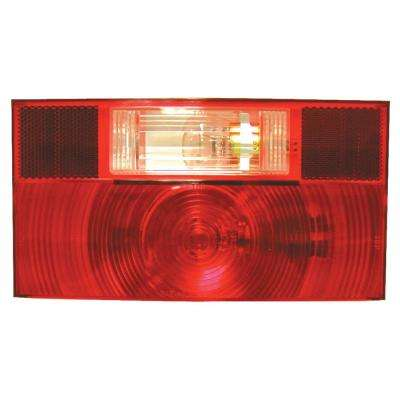 Stop, Turn and Tail Light and License Light with Reflex Replacement Lens