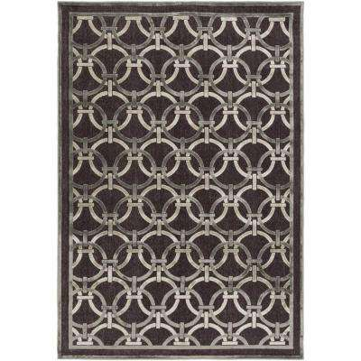 Veliko Chocolate 5 ft. 2 in. x 7 ft. 6 in. Indoor Area Rug