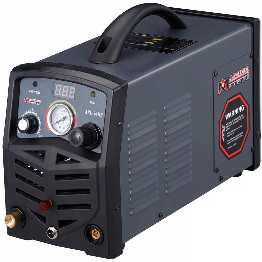 70 Amp 115-Volt/230-Volt Dual Voltage Non-Touch Pilot Arc Plasma Cutter, 1.0 in. Clean Cut Cutting Machine