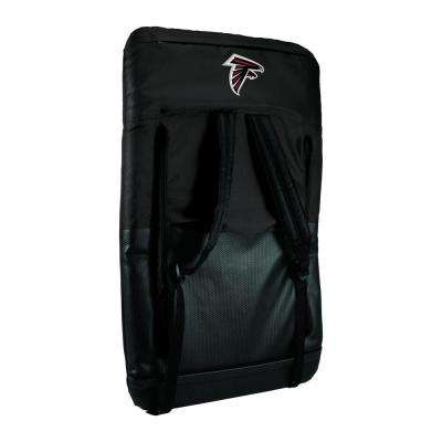 Ventura Atlanta Falcons Black Patio Sports Chair with Digital Logo