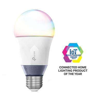 60-Watt Smart Wi-Fi LED Bulb with Tunable White and Color with Energy Monitoring