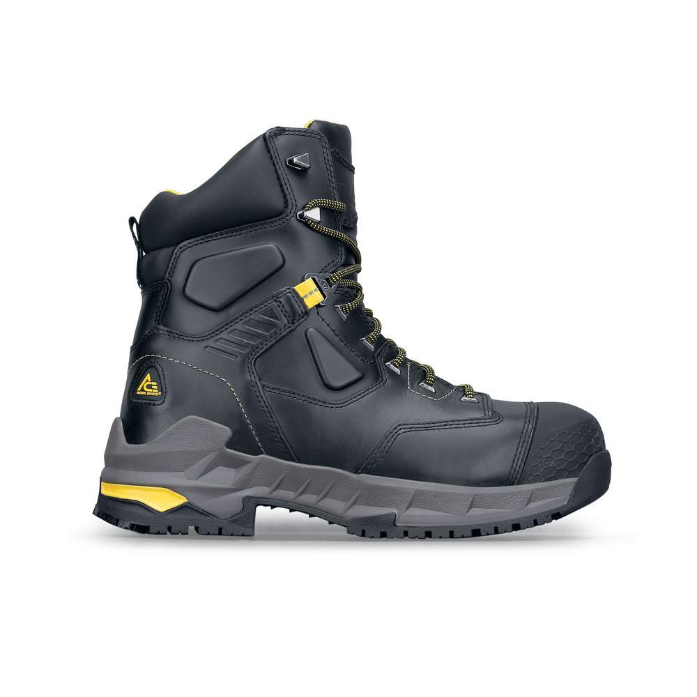 Work Boots - Composite Toe - Black