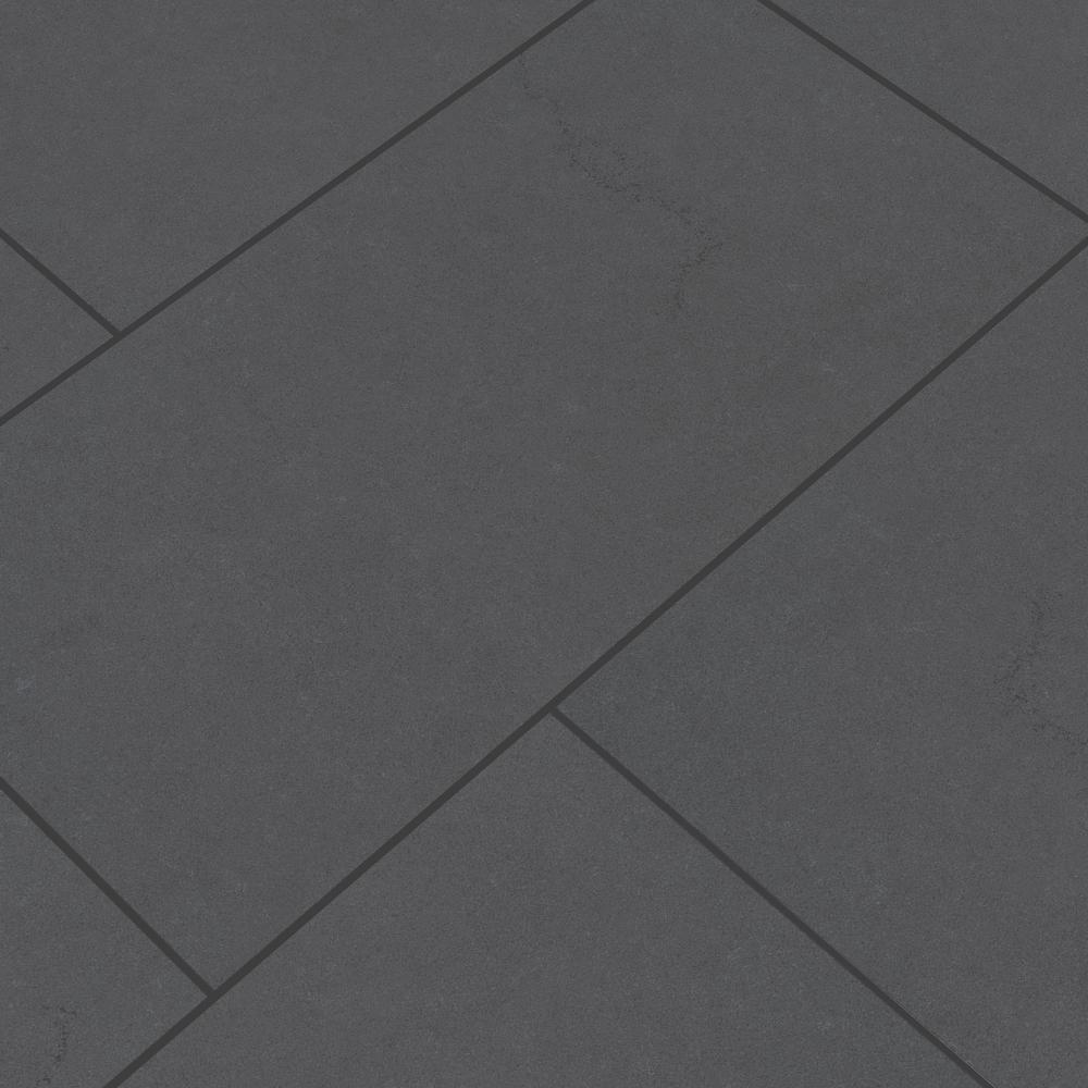 MSI Beton Graphite 12 in. x 24 in. Matte Porcelain Floor and Wall Tile (16 sq. ft. / case)