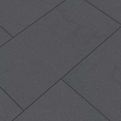 Beton Graphite 12 in. x 24 in. Matte Porcelain Floor and Wall Tile (16 sq. ft. / case)