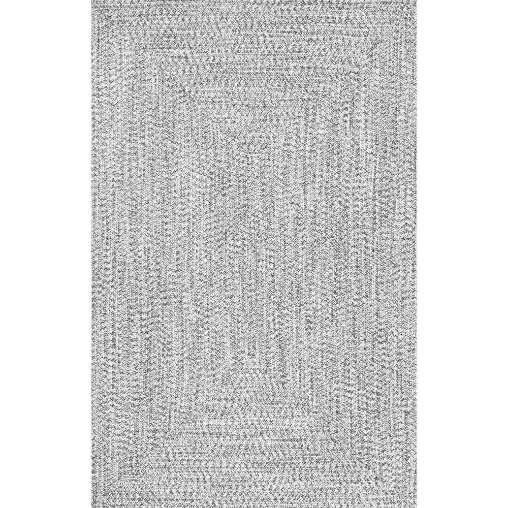 Lefebvre Salt and Pepper 5 ft. x 8 ft. Area Rug