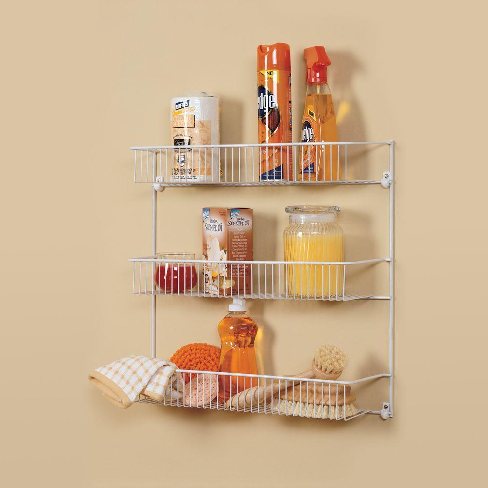 18 in. 3-Tier All-Purpose Storage Rack