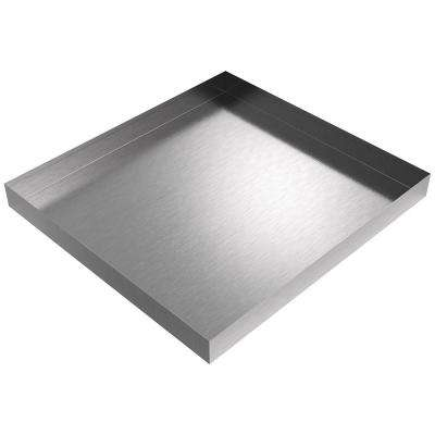 Compact Washer Drip Pan 27 in. x 25 in. x 2.5 in. in Stainless Steel for a Stacking Kit