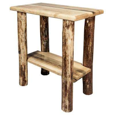 Glacier Brown Chair Side Table